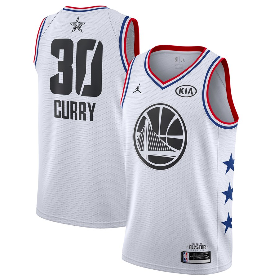 2019 All-Star  30 Stephen Curry Golden State Warriors Game Finished ... 01ff359aa