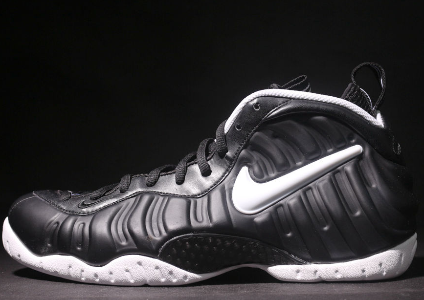 """2a465163448 Nike Air Foamposite Pro """"Dr. Doom"""" Black White For Sale 2018 Basketball  Shoes new in box size 7-12 Authentic on Storenvy"""