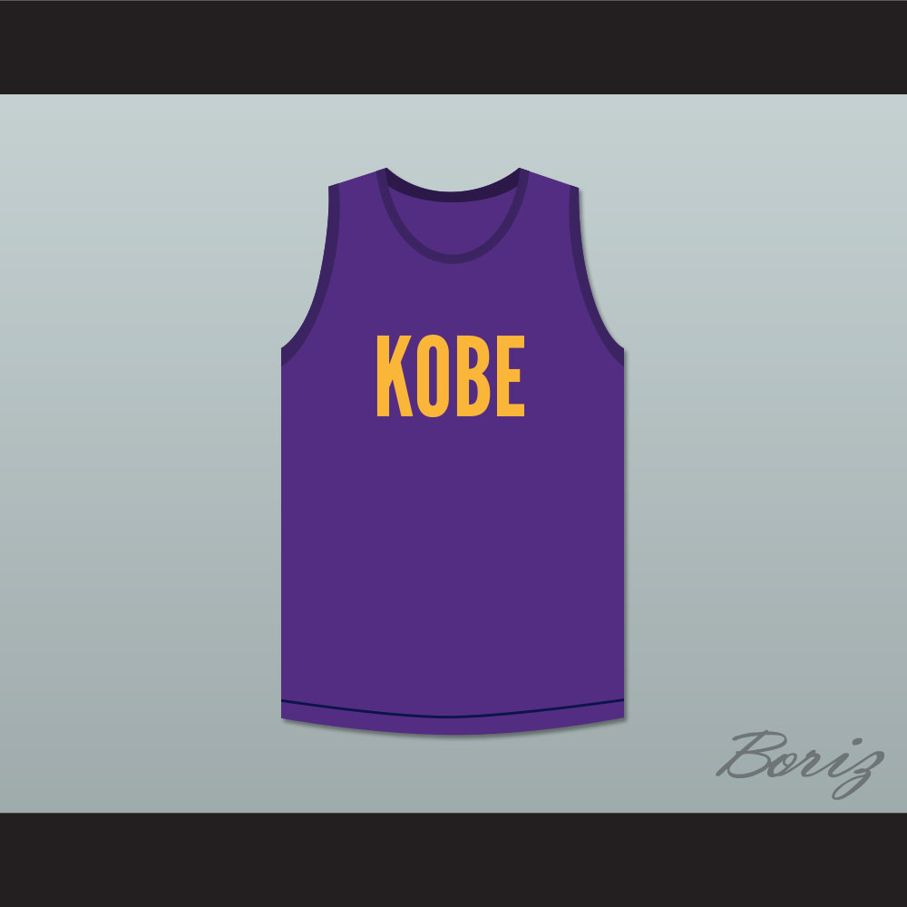 556aacfb6 Kobe Bryant 8 Purple Basketball Jersey Kobe Bryant Expedia Skit MADtv  (101813172 acbestseller) photo
