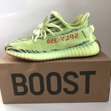 7f00928c4a213 Yeezy Boost 350 V2 Semi Frozen Yellow · Zapys · Online Store Powered ...