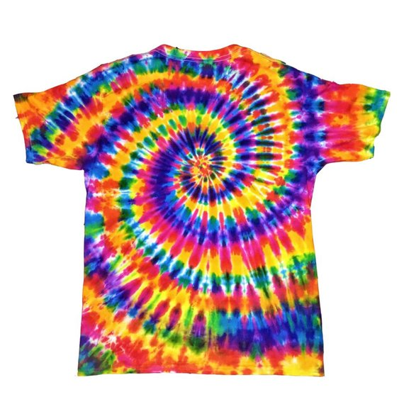 Dead End Dead Planet Aliens Hippie Trippy Tie Dyed Tee Plasticandy