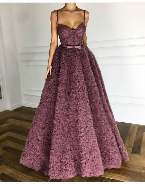 2da87bf373e Exquisite A-line Long Prom Dress,sling Royal Purple Evening Dress,charming  Party