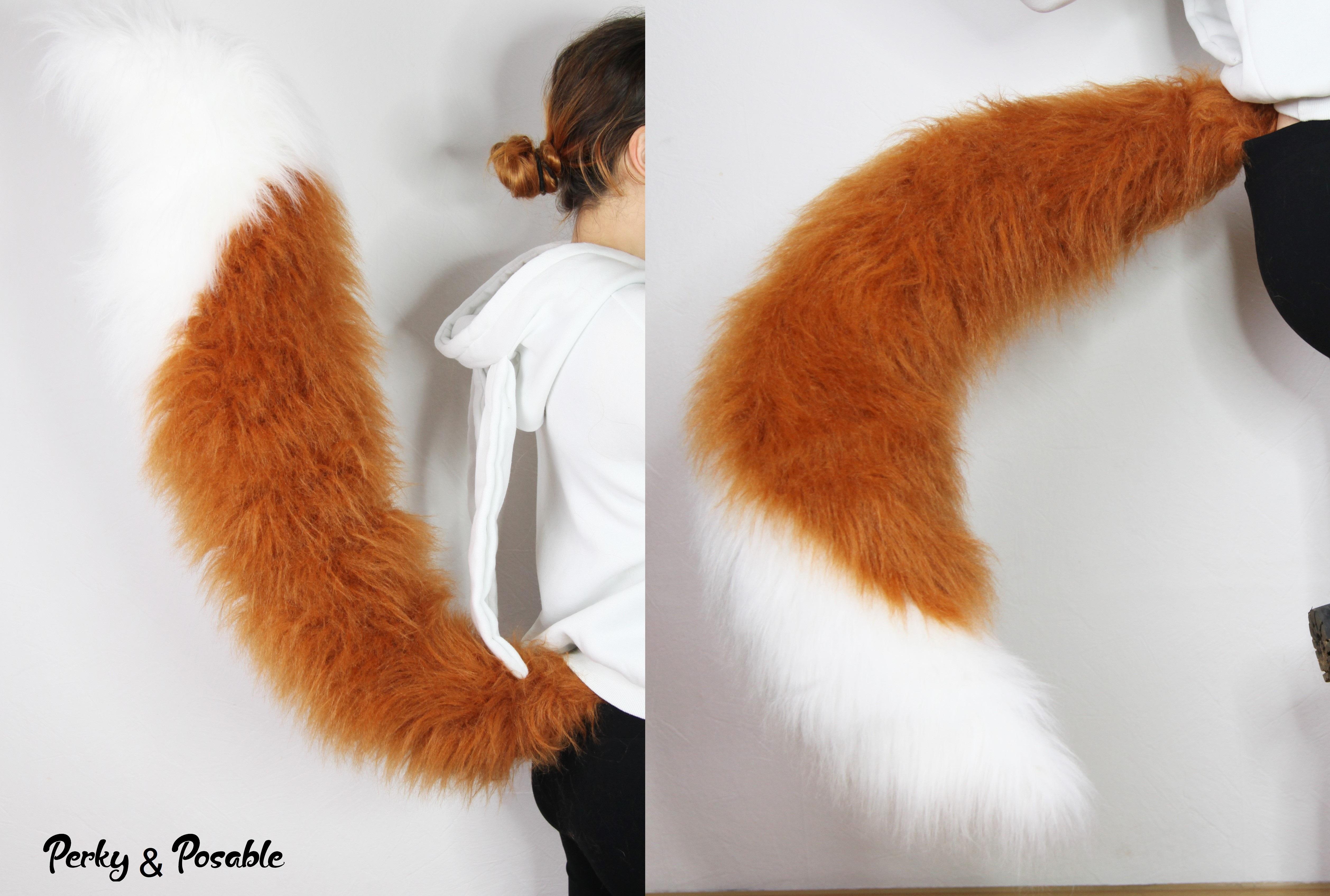 Fox tail cosplay