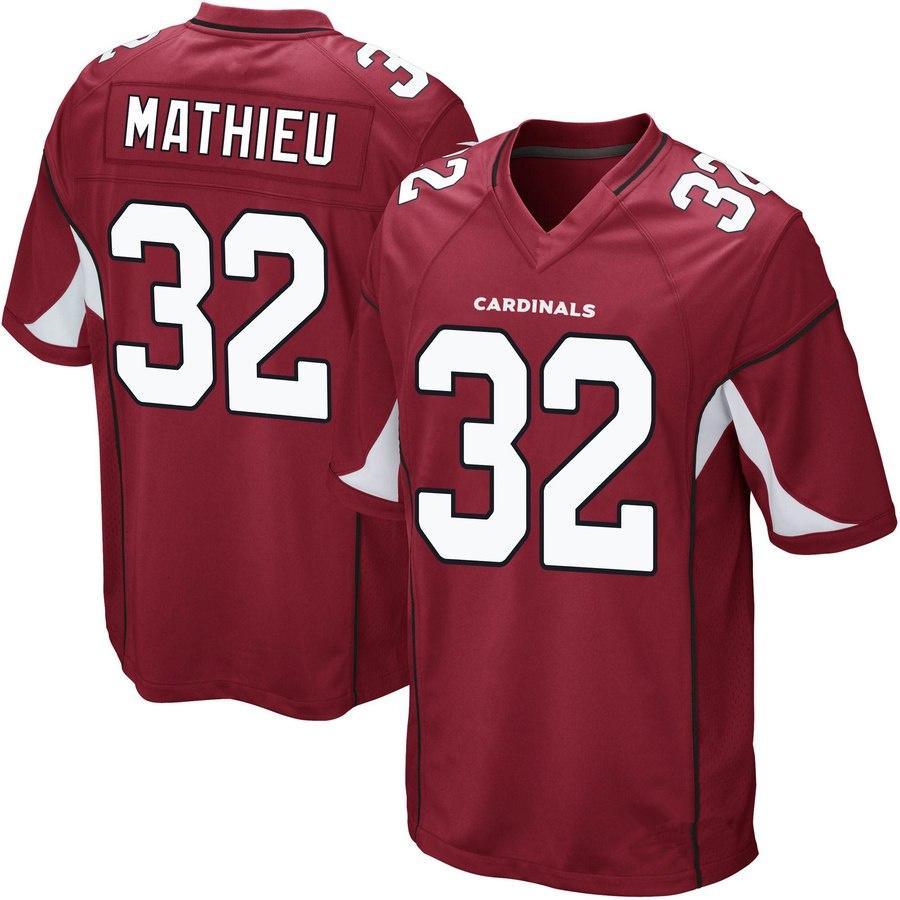Men s Arizona Cardinals  32 Tyrann Mathieu Cardinal Football Jersey ... 0aa74c354702
