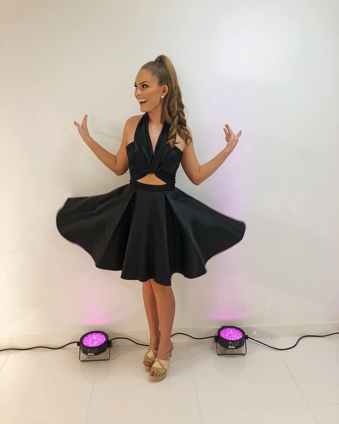 449908e5483 Cute Halter Short Black White Party Dress · modsele · Online Store ...