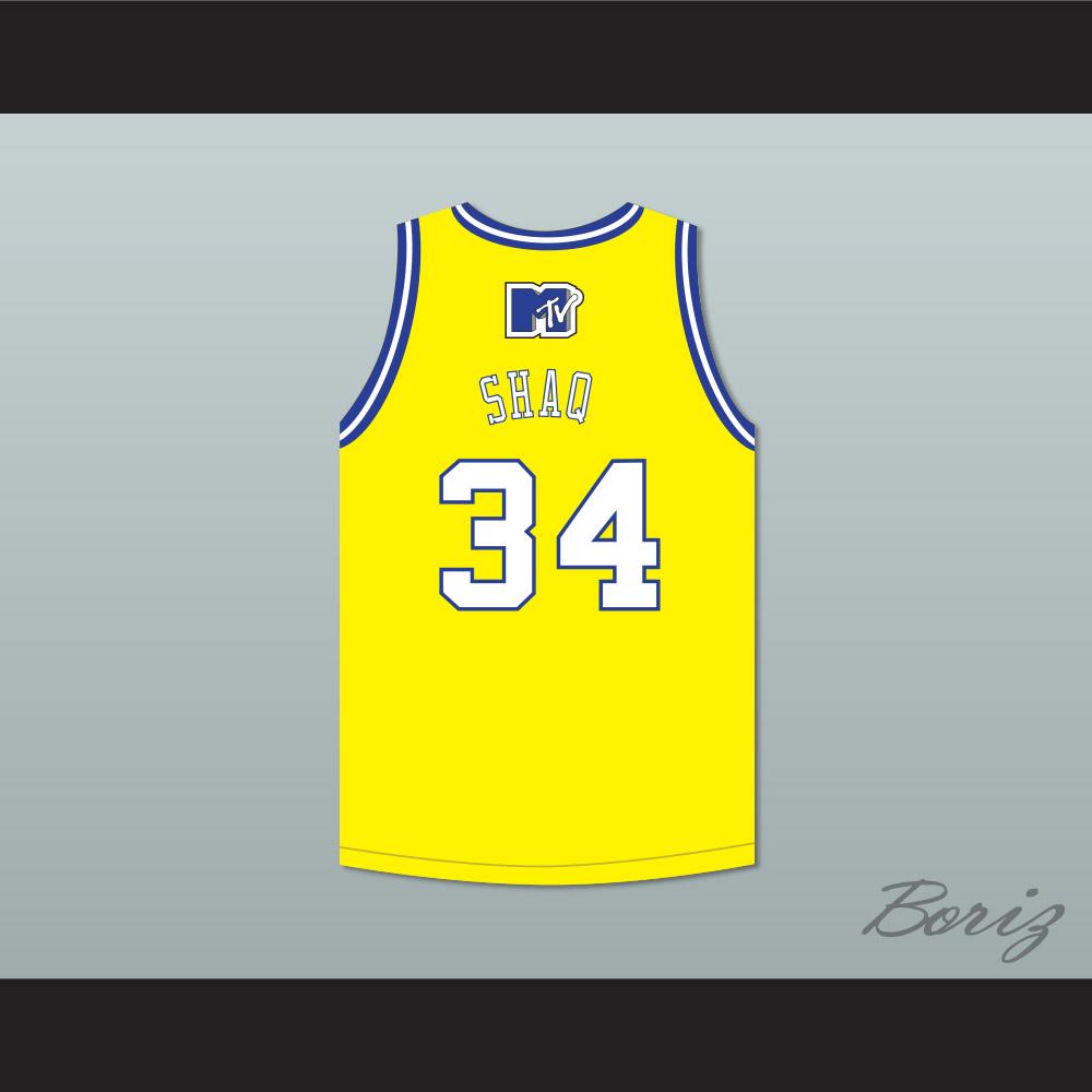 92aaa641165 Shaquille 'Shaq' O'Neal 34 Violators Basketball Jersey 7th Annual Rock N'