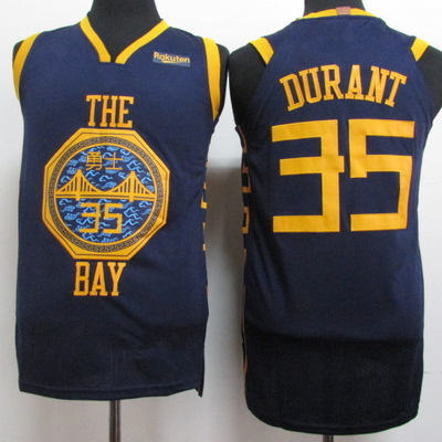 aa28a97acb23 Men s golden state warriors 35 kevin durant navy 201819 player basketball  jersey - icon city edition