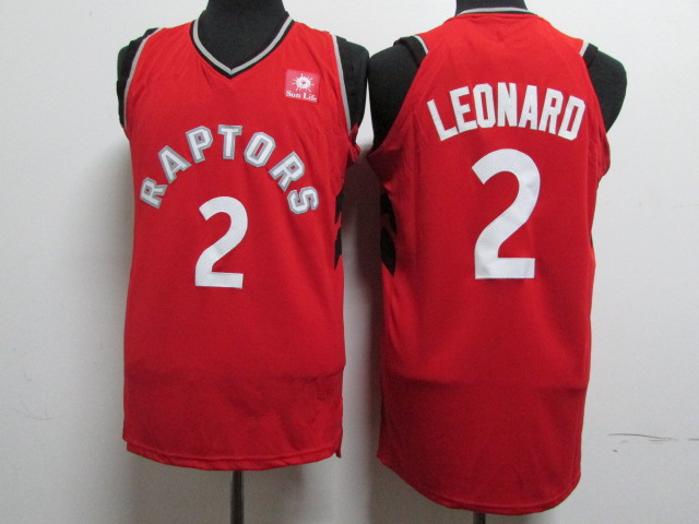 143ea7ae03c9 Men s Toronto Raptors 2  Kawhi Leonard Red 201819 Player Basketball Jersey