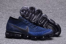 newest 96f4c d75d9 Nike Air VaporMax Flyknit Navy Blue from Zapys
