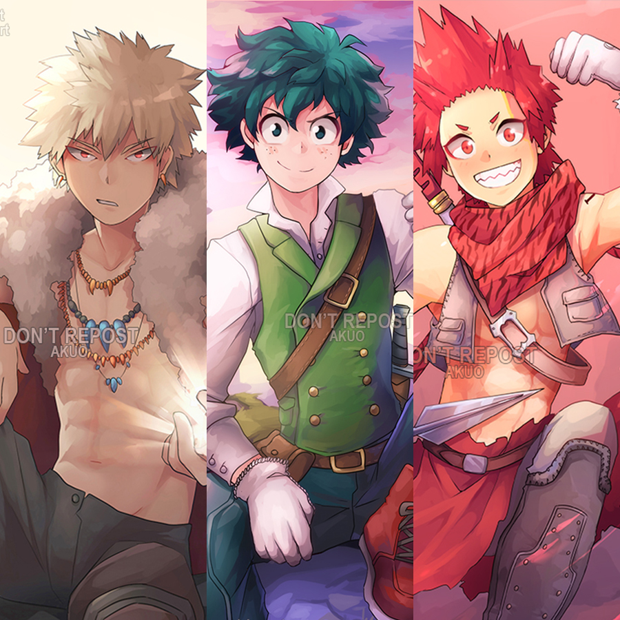 BNHA (Fantasy) Prints · AKUO · Online Store Powered By
