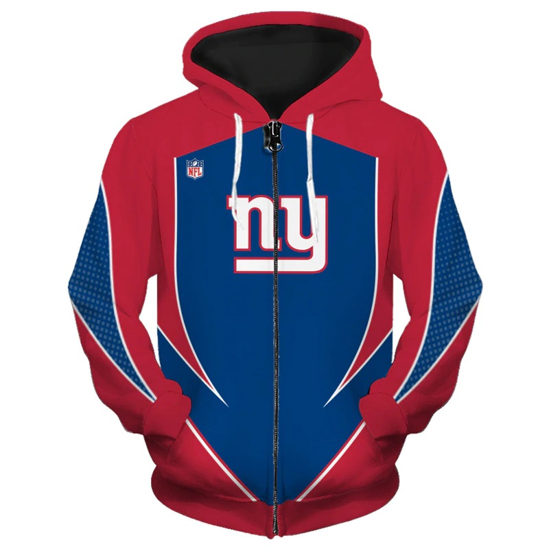 c752b39ee NFL New York Giants Zip Up Hoodie Sweatshirt Special Edition (104220555  SportsMegas) photo
