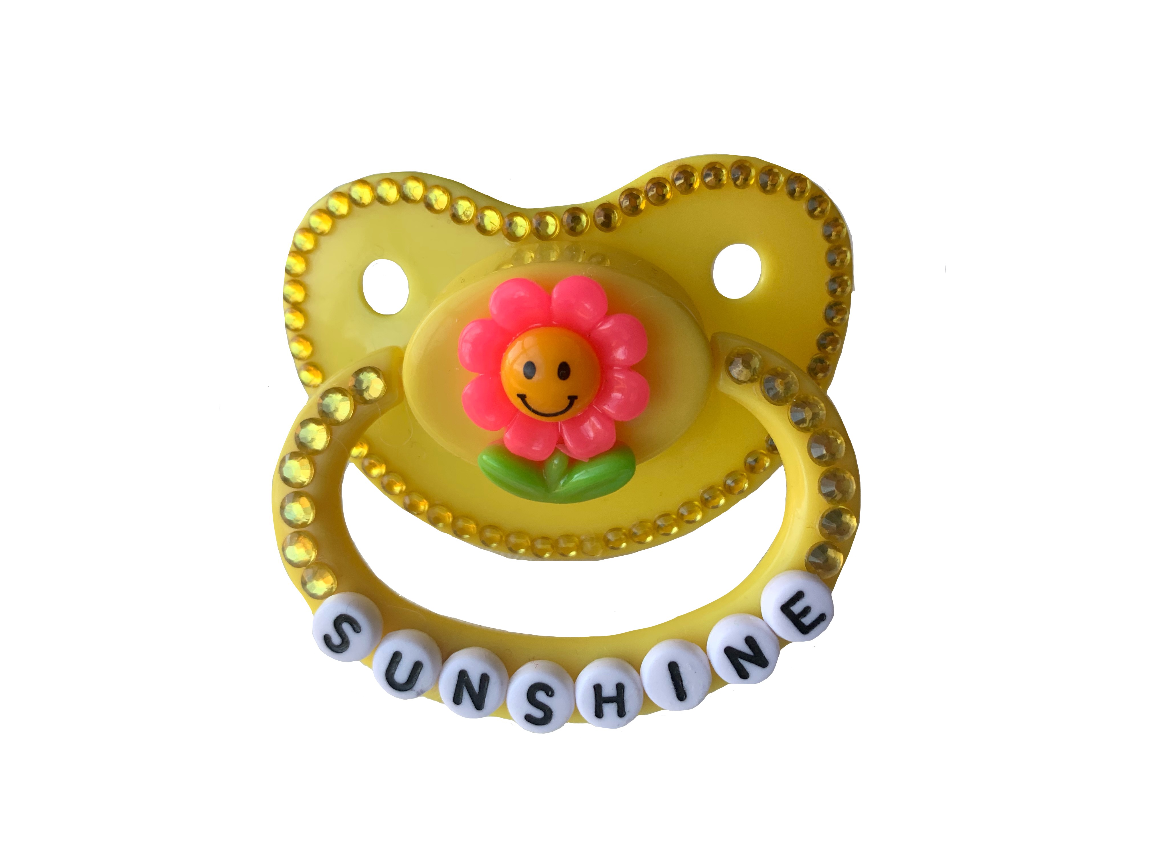 * Sunshine * Adult Pacifier DDLG ABDL CGL Age Regression Little Space Dummy