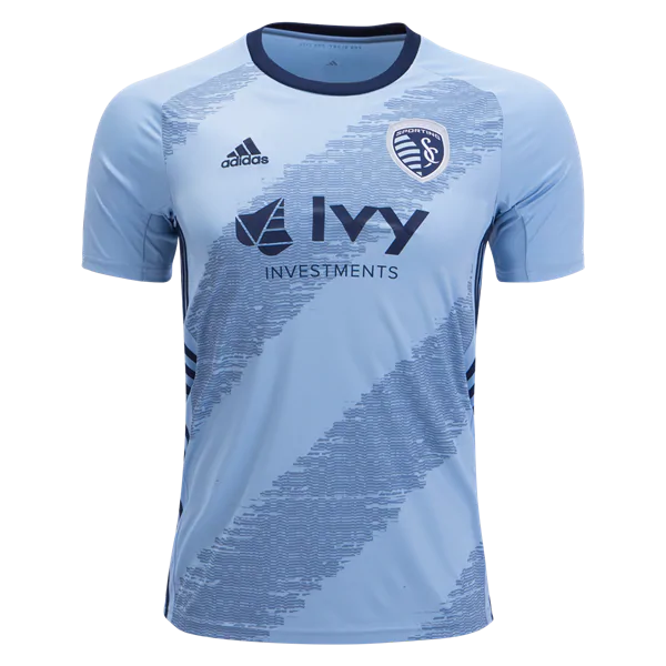 8d12b8ba8 Sporting KC 2019 Home Jersey Men s Kansas City Soccer Stadium Shirt ...