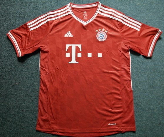 promo code 7bef8 2ee89 BAYERN MUNICH HOME SOCCER JERSEY 2013/2014 ORIGINAL QUALITY SHIRT OFFICIAL  KIT sold by Soccer shop
