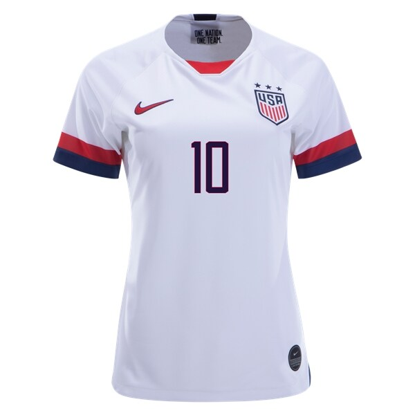 lowest price f96d5 f8a56 Carli Lloyd 10 US Women's National Team 4 Star Home Jersey 2019 USWNT  Soccer Stadium Shirt WWC Streetwear from HoHo Jersey Collection