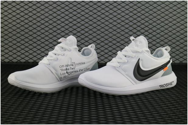 the best attitude f30a4 f2009 The Lastest Footwear OFF WHITE x Nike Roshe Two 844931 100 White Pure  Platinum Blanc Platine Pure Running Shoe Factory Outlet from BELLDRESS