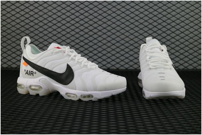pretty nice 0ef21 21fa3 The Lastest Footwear OFF WHITE x Nike Air Max Plus TXT Tn Ultra Joint White  Blanc Commun AA3827 100 Running Shoe Factory Outlet from BELLDRESS