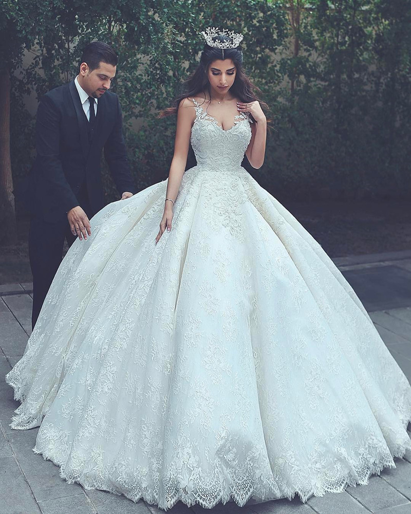 Lace Wedding Gowns Princess Wedding Dress Ball Gowns Wedding Dress Vintage Wedding Dress Wedding Dresses 2017 On Storenvy,Spring Wedding Guest Dresses 2020