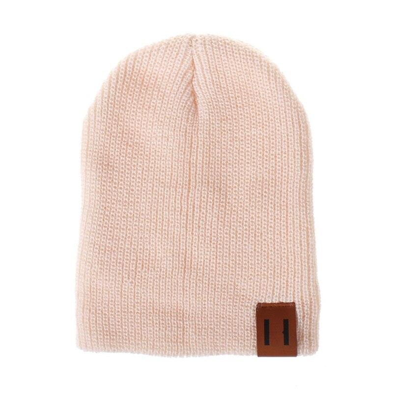 6c2cb10fd Crochet Knit Beanie Elasticity Women Soft Casual Girl Kids Adult Children  Cap Boy Men Ear Baby Hats Hat Winter Warm