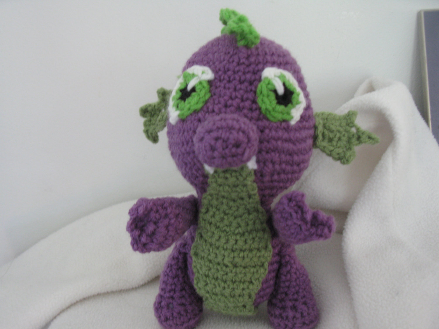 Crochet Pattern Spike the Dragon Amigurumi PDF par MilesofCrochet ... | 1125x1500