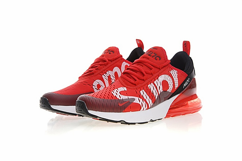 wholesale dealer f6917 f0e2b Supreme x Nike Air MAX 270 Red/white Running Shoes sold by ivicente