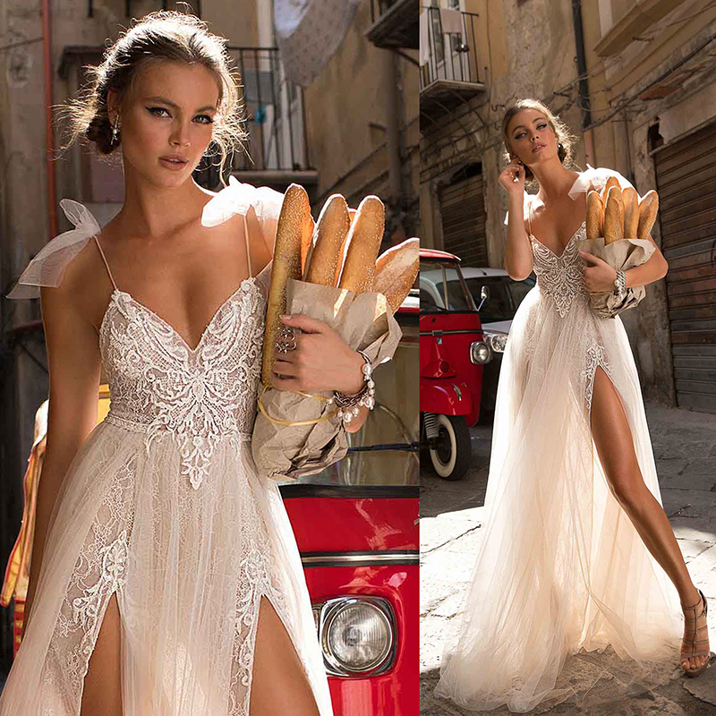 Sexy White Evening Dresses party gown