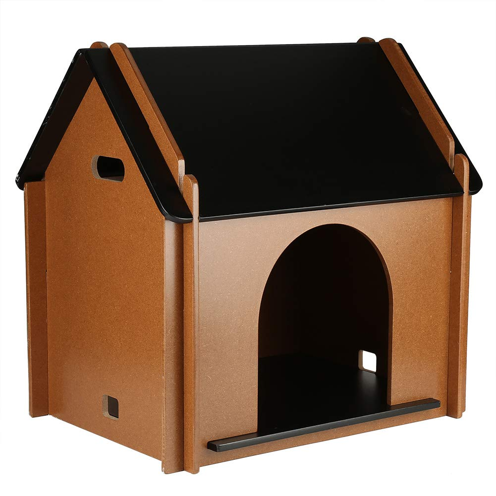 Free shipping Wooden Pet House, Foldable Dog Cat Tent Shelter Cage Home Kennel Cave Condo Room Outdoor Indoor (115316579) photo
