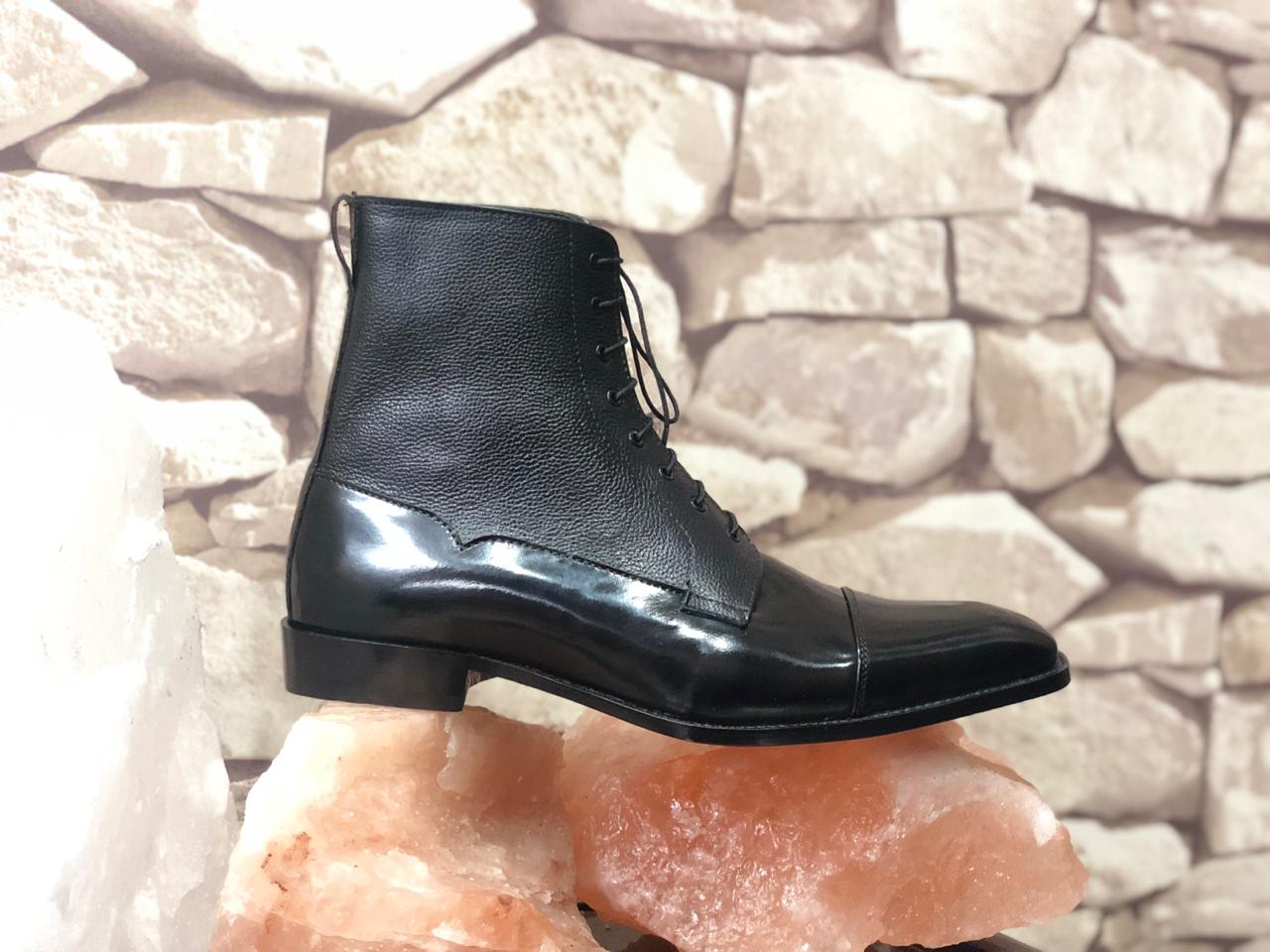 Mens Black Ankle Boots | Mens Ankle Boots & Mens Leather Boots