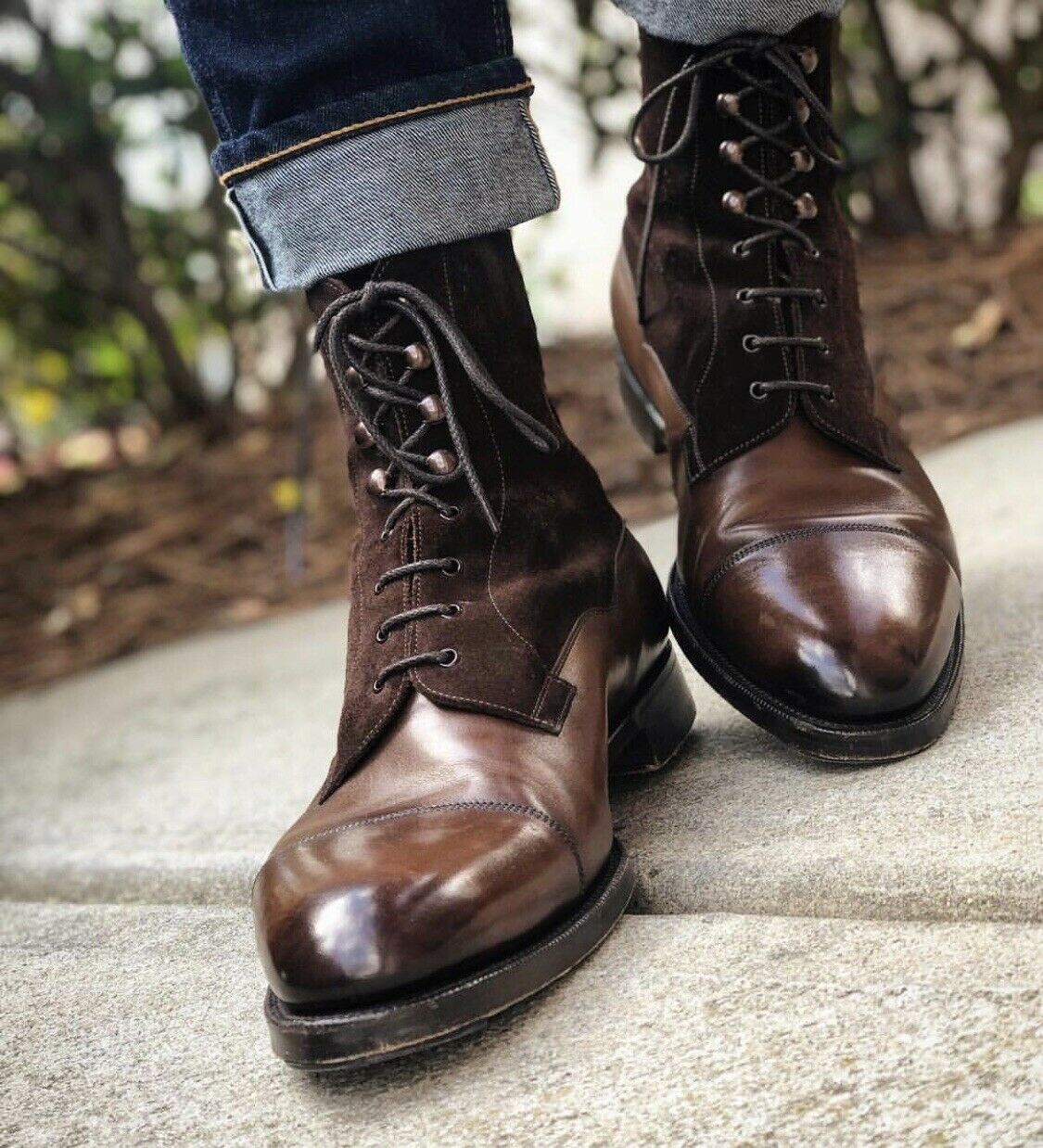 Mens Boots | Mens Ankle Boots & Mens Brown Leather Casual Boots