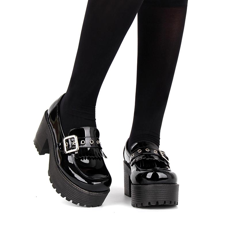 Lolita Platform Demonia Gothic Black
