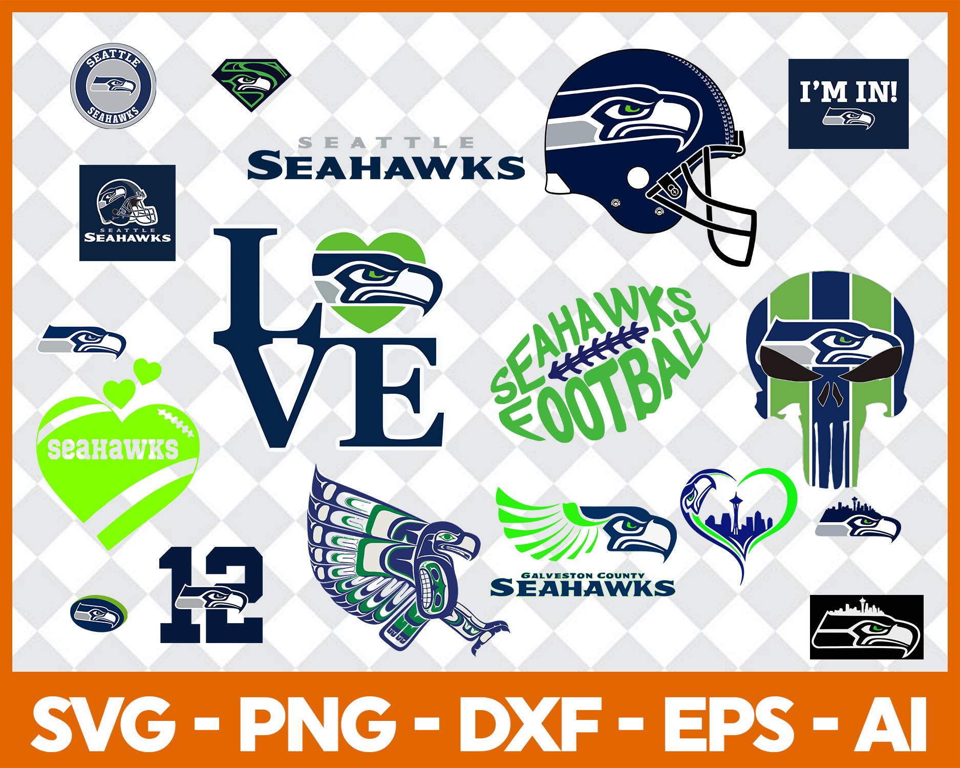 Seattle Seahawks Seattle Seahawks Logo Seattle Seahawks Svg Seattle Seahawks Clipart Seattle Seahawks Cut Nfl Svg Sold By Taylor Digital Shop