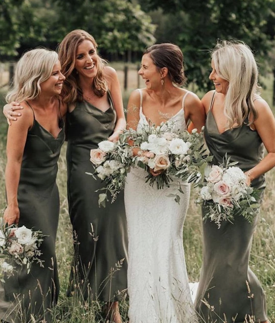 Spaghetti_Straps_Long_Olive_Green_Long_Bridesmaid_Dresses_for_Wedding_Party