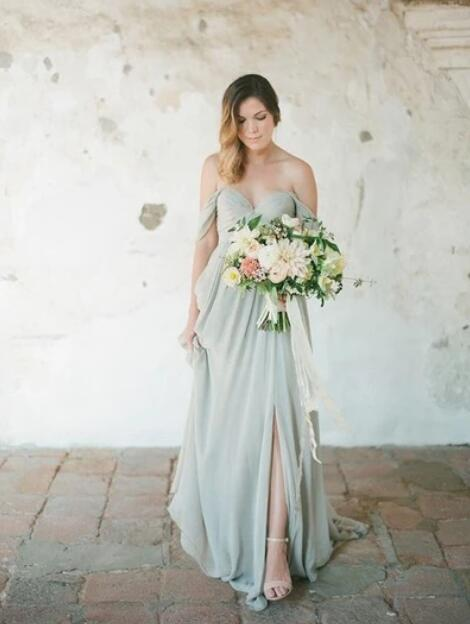 Off_the_Shoulder_Chiffon_Long_Bridesmaid_Dresses_for_Wedding_Under_100
