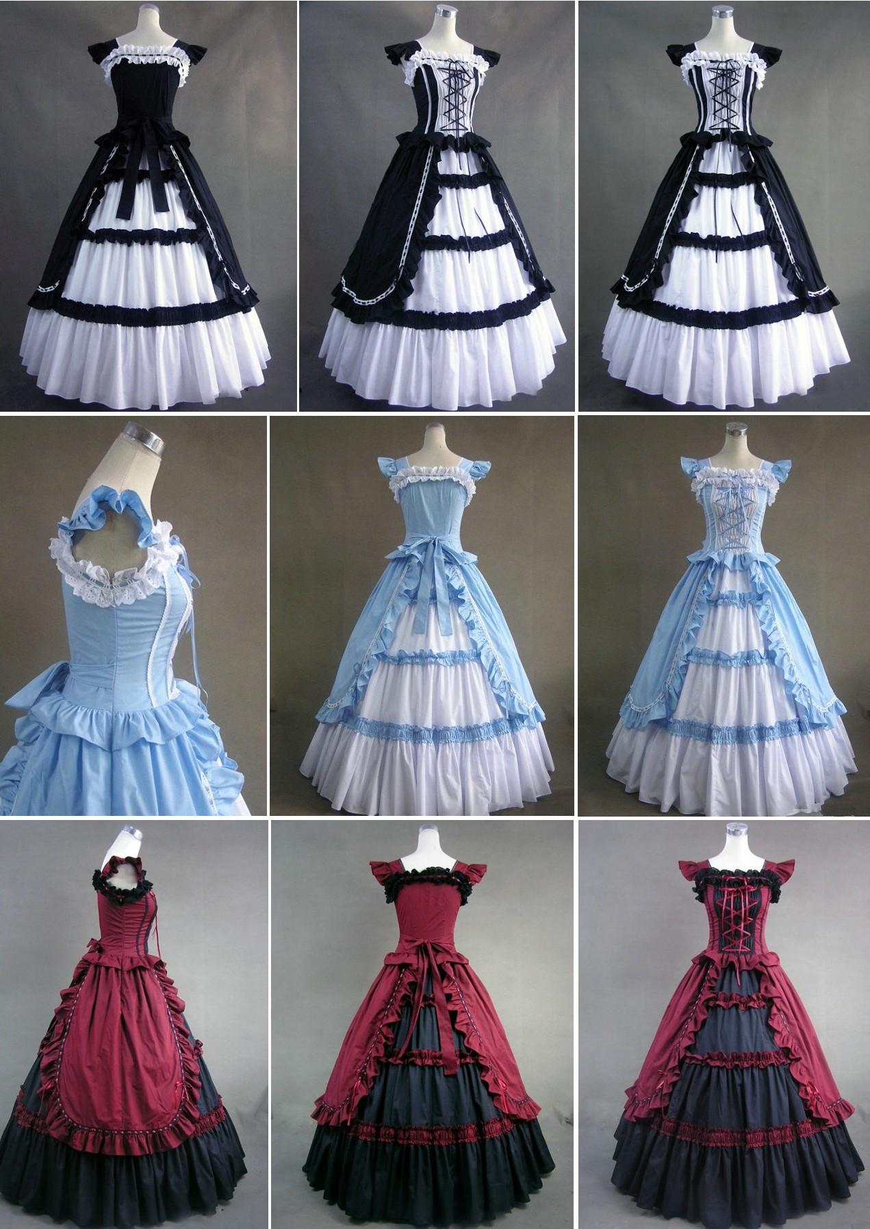Maria\'s - Bridal Vintage Prom Retro Victorian Royal House Ball ...