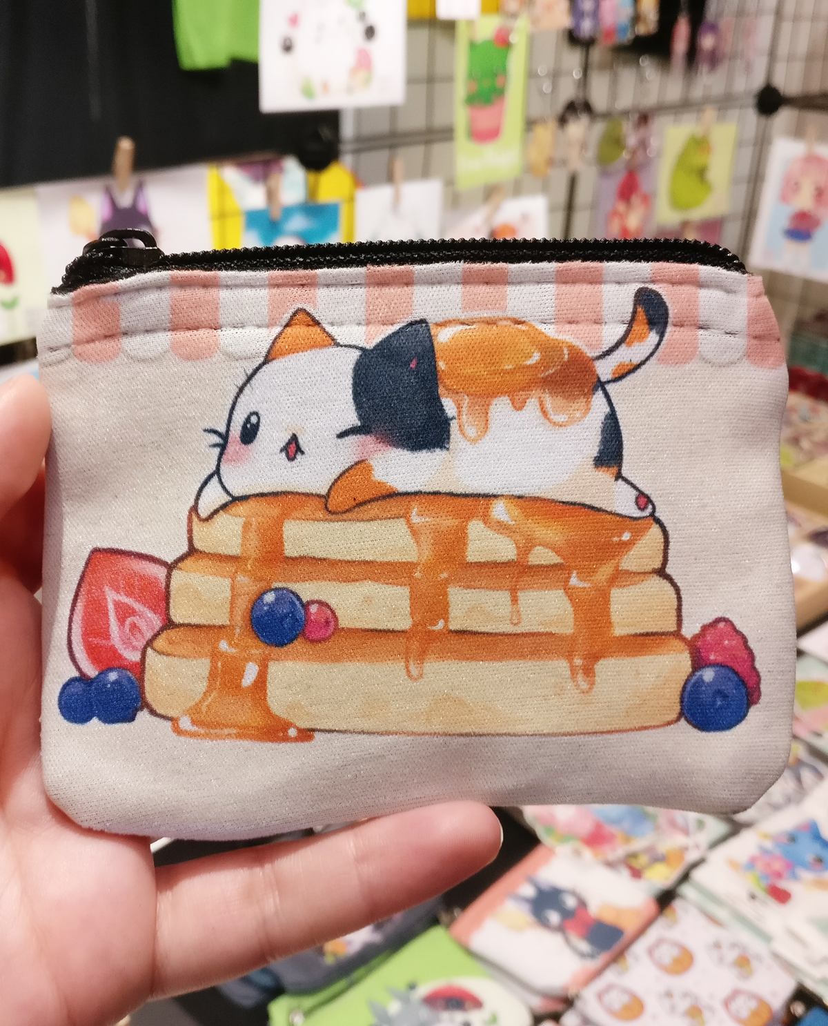 Pancake cat coin purse / wallet (125564200) photo