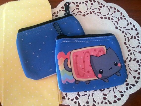 chibi Nyan Cat coin purse / wallet (125564290) photo