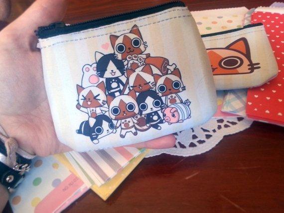 Felyne! - Monster Hunter coin purse / wallet (125578645) photo