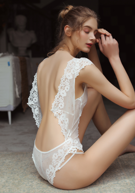 Sexy Playsuit Lace Bodysuit Lingerie