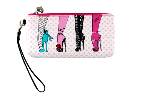 Femme Fatale Clutch / Wristlet Purse by Fluff (6914215 Frenzy Universe) photo