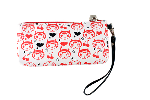 Little Devil Clutch / Wristlet Purse by Fluff (6914260 Frenzy Universe) photo