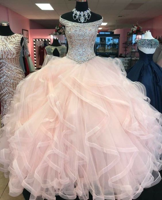 Dressydancespink Ball Gown Quinceanera Dresses Princess Gown Birthday Dress Dailymail