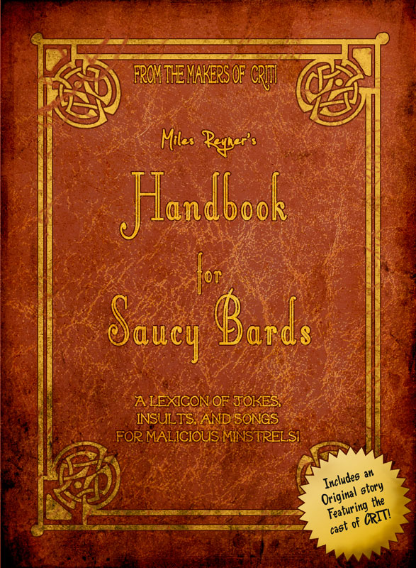 Storenvy coupon: Miles Reyner's Handbook for Saucy Bards