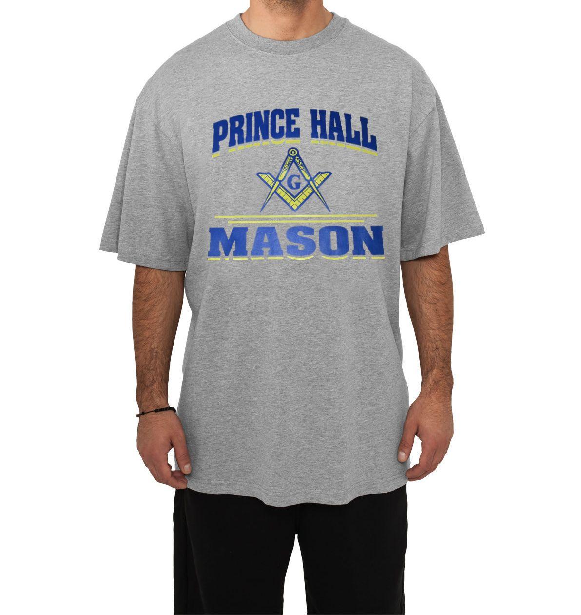 Storenvy coupon: Masonic - Prince Hall Mason Sports Grey T-Shirt