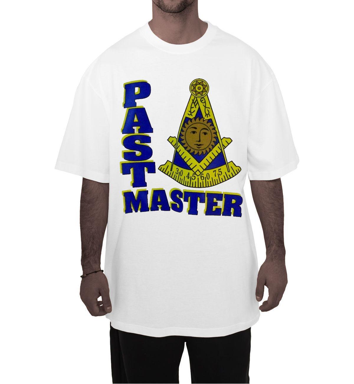 Storenvy coupon: Masonic - Past Master White T-Shirt