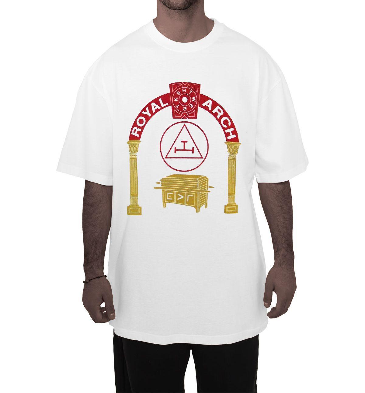 Storenvy coupon: Royal Arch Mason - Arch and Keystone White T-Shirt