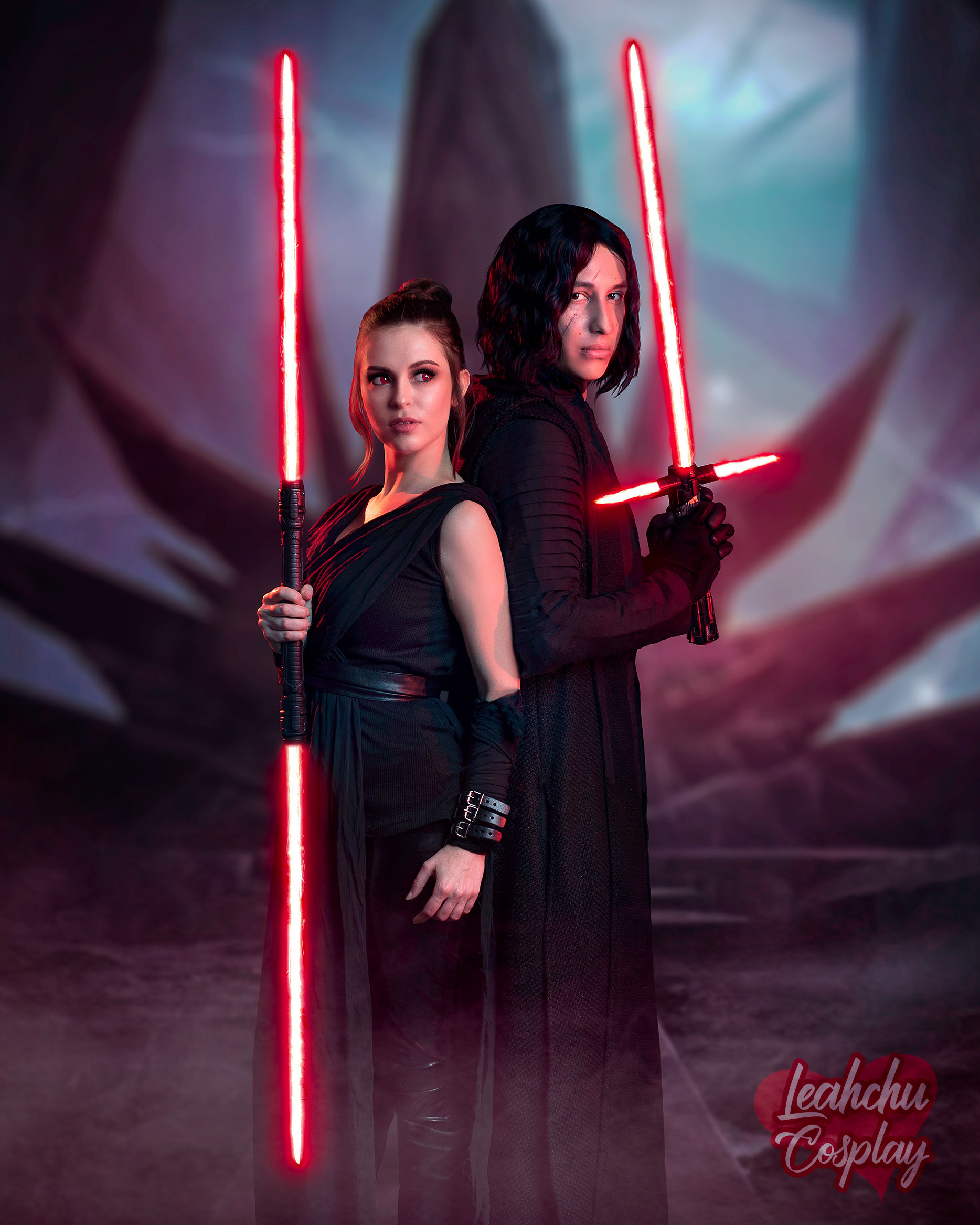 Dark Rey And Kylo Ren Reylo Cosplay Star Wars The Rise Of Skywalker 4 Sold By Leahchu Cosplay On Storenvy