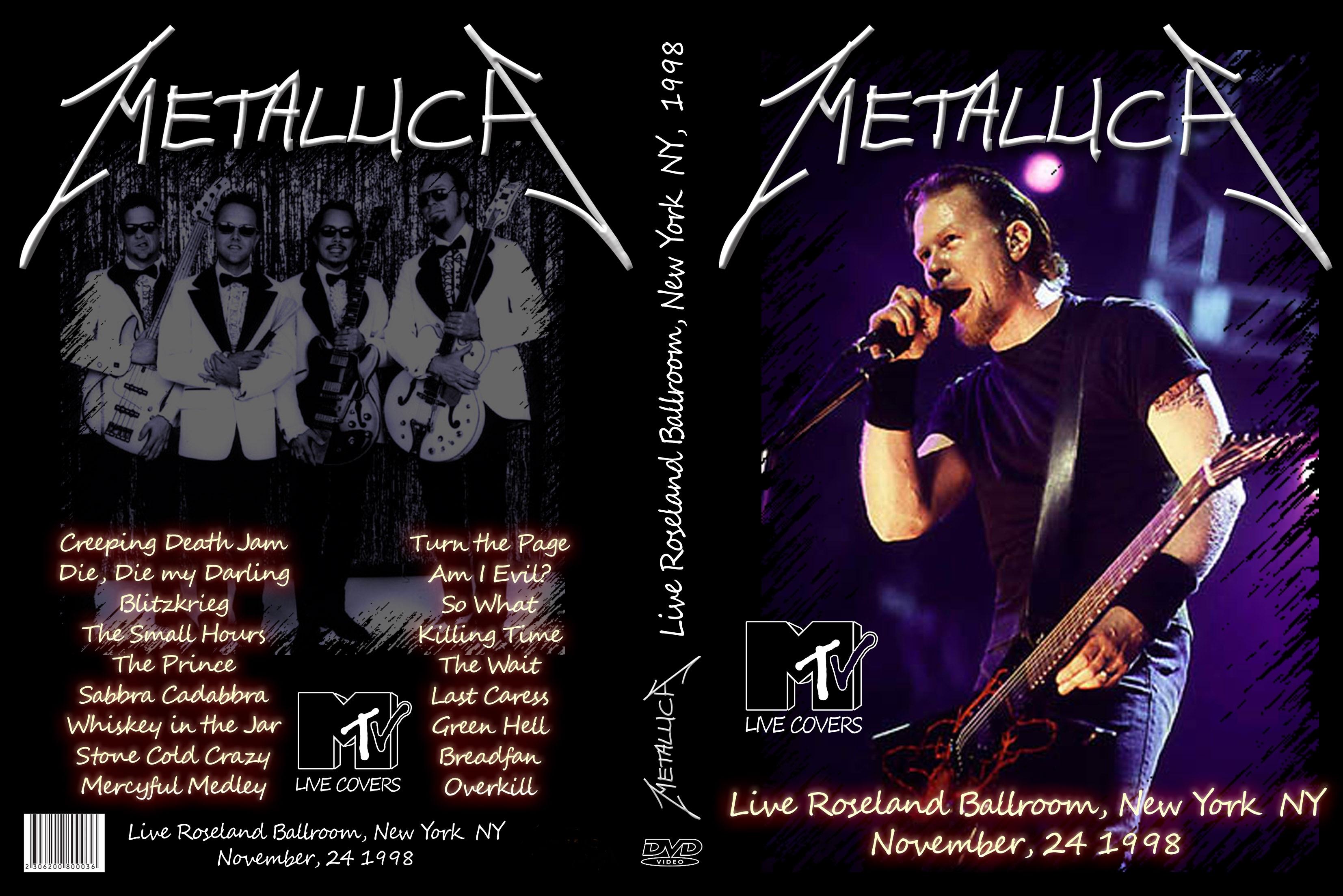 Metallica - Live in New York 98