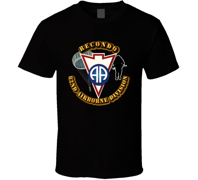 Recondo - Para - 82nd Airborne Division Recondo T Shirt