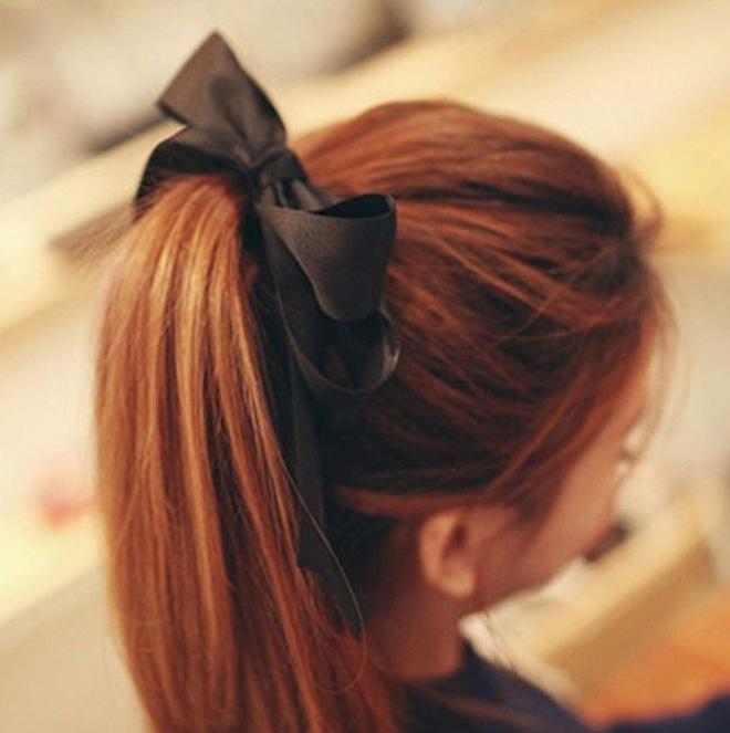 Satin Bow Hair Tie · Pocket Tokyo · Online Store Powered by Storenvy f986236017a
