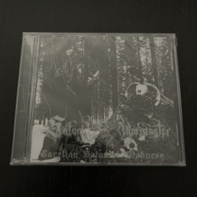 "Satanic warmaster- ""carelian satanist madness"" double cd"
